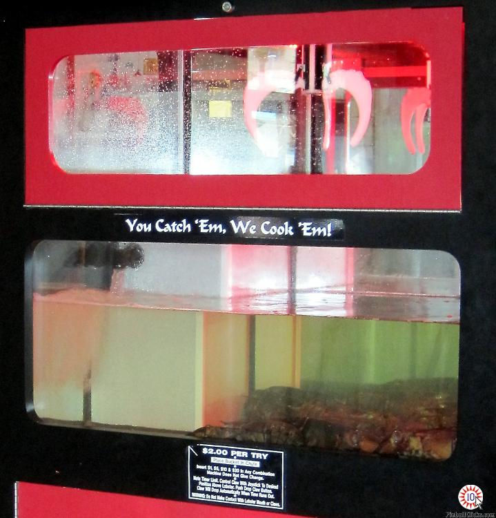 lobster zone vending machine