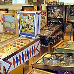 The National Pinball Museum exhibits dozens of games of every vintage.