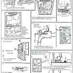 Diagrams provide servicing instructions for the Nishijin Type A pachinko machine