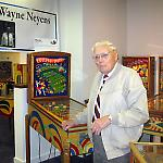 Wayne Neyens describe his first pinball machine design, College Daze.