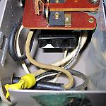 Socket for motor inside Magic Fingers timer box.
