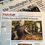 The Washington Post features the FSPA pinball league at John's Place.
