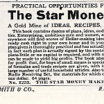 A listing for The Star Money Maker in a c. 1930 Johnson Smith & Co. catalog