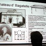 David Silverman traced pinball's origins to the Château de Bagatelle.